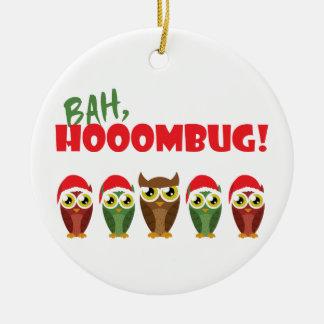"""""""Bah Hooombug"""" Ceramic Ornament"""