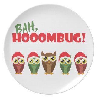 """Bah Hooombug"" Dinner Plate"