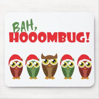 """Bah Hooombug"" Mouse Pad"