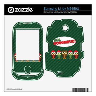 Bah Hooombug Decals For Samsung Lindy