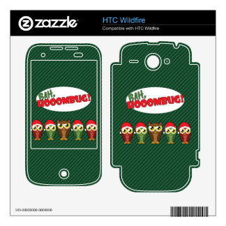 Bah Hooombug Decals For HTC Wildfire