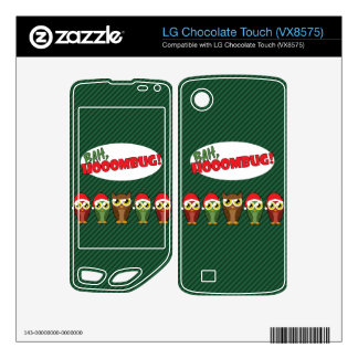 Bah Hooombug LG Chocolate Touch Decal