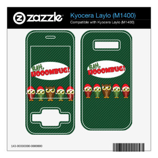 Bah Hooombug Decal For Kyocera Laylo