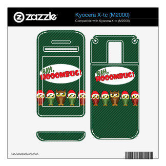 Bah Hooombug Decals For Kyocera X-tc