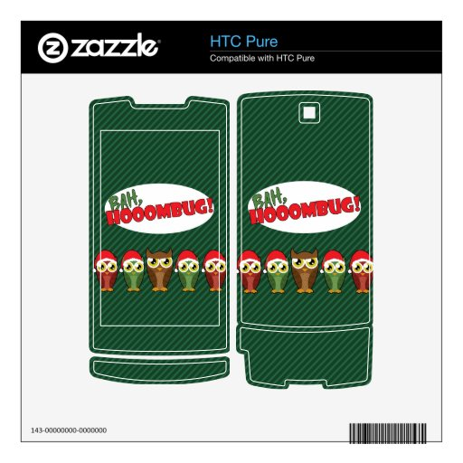 """Bah Hooombug"" Skin For The HTC Pure"