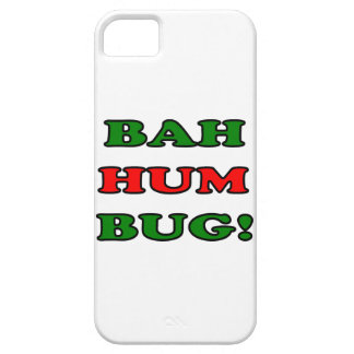 Bah Hum Bug iPhone 5 Covers