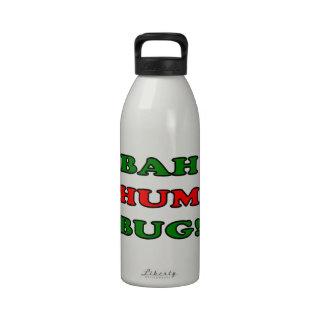 Bah Hum Bug Drinking Bottles