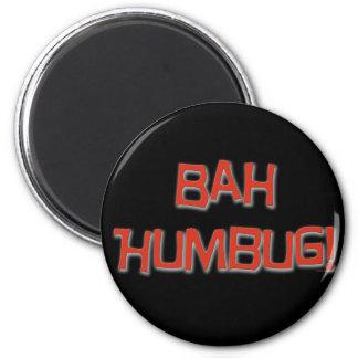 Bah Humbug 2 Inch Round Magnet