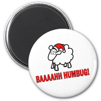Bah Humbug! 2 Inch Round Magnet