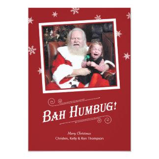 Bah Humbug Baby Christmas Cards