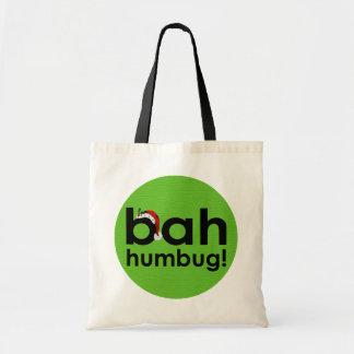 bah humbug budget tote bag