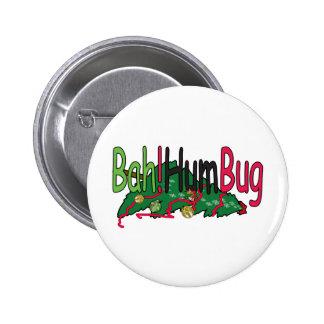 Bah!HumBug Pinback Button