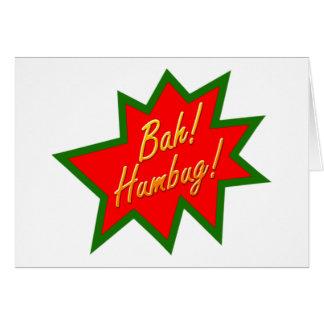 Bah Humbug Card