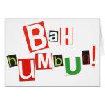 Bah Humbug! Cards
