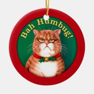Bah Humbug Ceramic Ornament