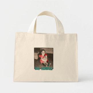 Bah Humbug! Christmas Holiday Tiny Tote Bag