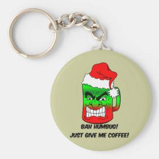 bah humbug Christmas Keychain