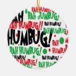 Bah Humbug Christmas Ornaments