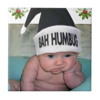Bah Humbug Christmas Sucks!! Ceramic Tile