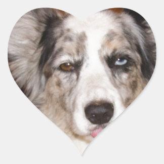 Bah Humbug Corgi!!! Heart Sticker