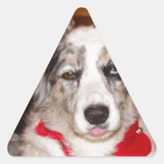 Bah Humbug Corgi!!! Triangle Sticker