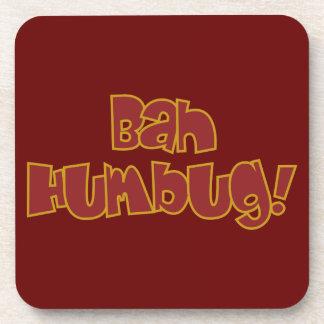 BAH HUMBUG! custom coasters