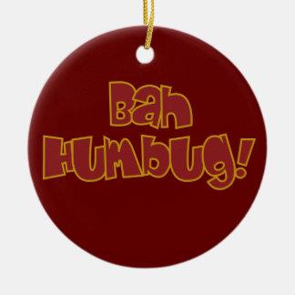 BAH HUMBUG custom ornament