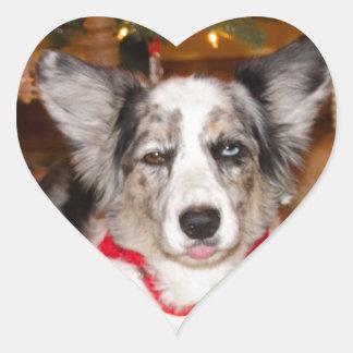 Bah Humbug!!! Heart Sticker
