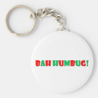 Bah Humbug Keychain