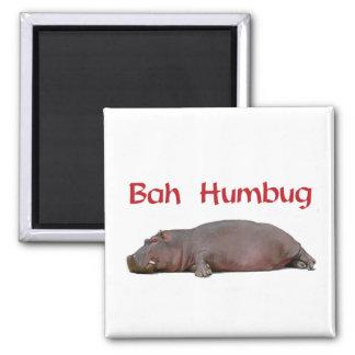 Bah Humbug Magnetic for Holiday Stress Magnet