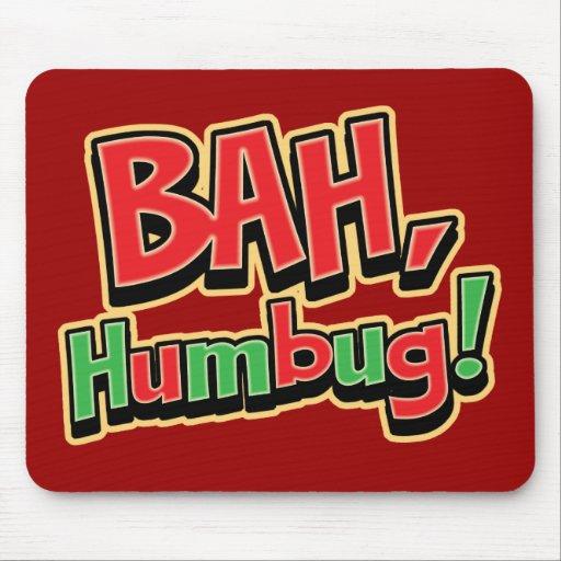 Bah Humbug Mousepad