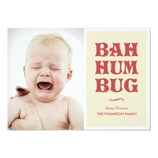 Bah Humbug Photo Cards