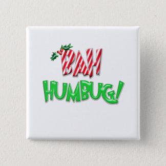 Bah Humbug Pinback Button