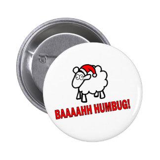 Bah Humbug! Pinback Button