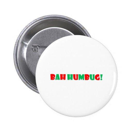 Bah Humbug Pinback Buttons
