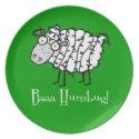Bah Humbug plate
