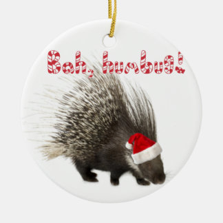 Bah humbug Porcupine ornament