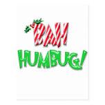 Bah Humbug Post Cards