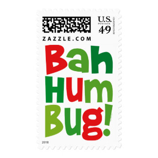 Bah Humbug Stamps