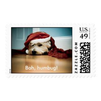 Bah, humbug! postage