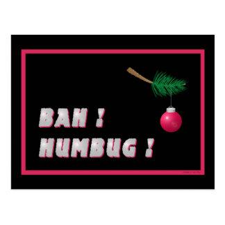 'Bah !  Humbug !' Postcard