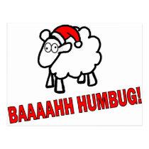 Bah Humbug! Postcard