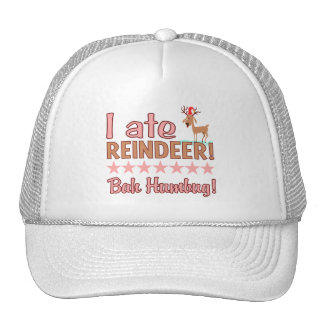 Bah Humbug Reindeer hat - choose color