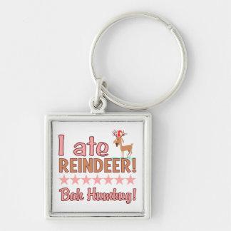 Bah Humbug Reindeer key chain