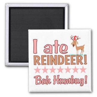 Bah Humbug Reindeer magnet