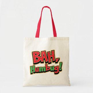 Bah Humbug Reusable Tote Bag