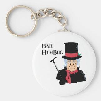 Bah Humbug Scrooge Keychain