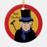 Bah! Humbug! Scrooge Ornament Christmas Ornament