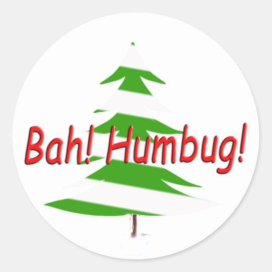 Bah! Humbug! Sticker