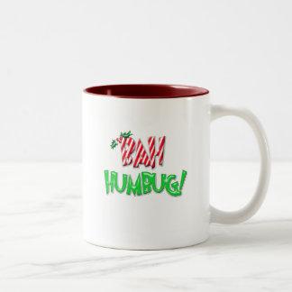 Bah Humbug Two-Tone Coffee Mug